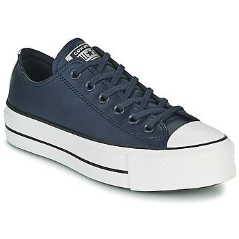 Cipők Női Rövid szárú edzőcipők Converse CHUCK TAYLOR ALL STAR LIFT ANODIZED METALS OX Kék