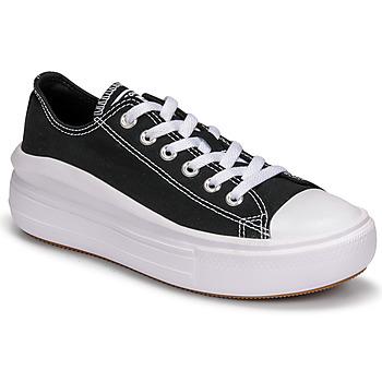 Cipők Női Rövid szárú edzőcipők Converse CHUCK TAYLOR ALL STAR MOVE CANVAS COLOR OX Fekete