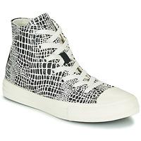 Cipők Lány Magas szárú edzőcipők Converse CHUCK TAYLOR ALL STAR DIGITAL DAZE HI Fekete  / Fehér