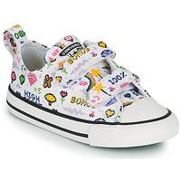 Cipők Lány Rövid szárú edzőcipők Converse CHUCK TAYLOR ALL STAR 2V GIRLS GAMER OX Fehér / Sokszínű