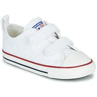 Cipők Lány Rövid szárú edzőcipők Converse CHUCK TAYLOR ALL STAR 2V LOVE CEREMONY OX Fehér