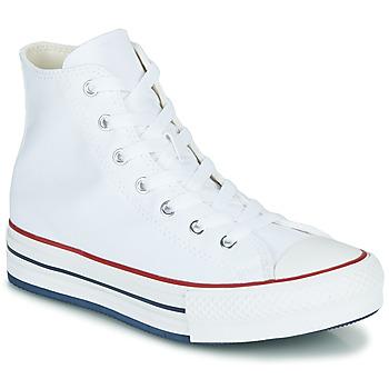 Cipők Lány Magas szárú edzőcipők Converse CHUCK TAYLOR ALL STAR EVA LIFT CANVAS COLOR HI Fehér