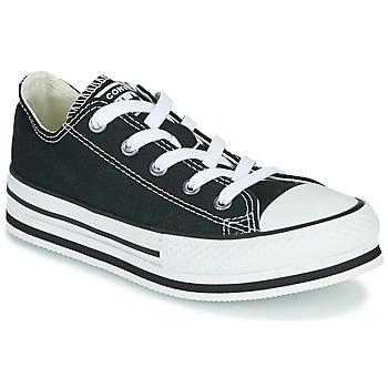 Cipők Lány Rövid szárú edzőcipők Converse CHUCK TAYLOR ALL STAR EVA LIFT EVERYDAY EASE OX Fekete