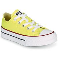 Cipők Lány Rövid szárú edzőcipők Converse CHUCK TAYLOR ALL STAR LIFT CANVAS COLOR OX Citromsárga
