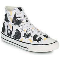 Cipők Gyerek Magas szárú edzőcipők Converse CHUCK TAYLOR ALL STAR GOING BANANAS HI Fehér / Sokszínű