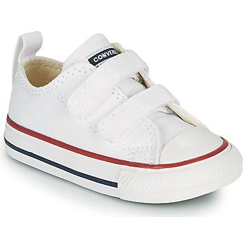 Cipők Gyerek Rövid szárú edzőcipők Converse CHUCK TAYLOR ALL STAR 2V FOUNDATION OX Fehér