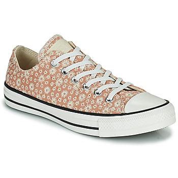 Cipők Női Rövid szárú edzőcipők Converse CHUCK TAYLOR ALL STAR CANVAS BRODERIE OX Bézs