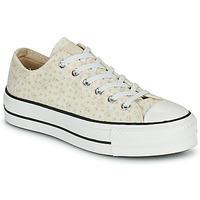 Cipők Női Rövid szárú edzőcipők Converse CHUCK TAYLOR ALL STAR LIFT CANVAS BRODERIE OX Fehér