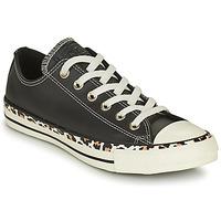 Cipők Női Rövid szárú edzőcipők Converse CHUCK TAYLOR ALL STAR ARCHIVE DETAILS OX Fekete  / Leopárd