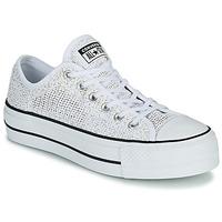 Cipők Női Rövid szárú edzőcipők Converse CHUCK TAYLOR ALL STAR LIFT BREATHABLE OX Fehér