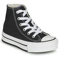 Cipők Lány Magas szárú edzőcipők Converse CHUCK TAYLOR ALL STAR EVA LIFT CANVAS COLOR HI Fekete