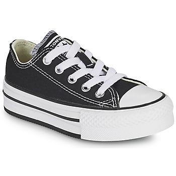 Cipők Lány Rövid szárú edzőcipők Converse CHUCK TAYLOR ALL STAR EVA PLATFORM FOUNDATION OX Fekete