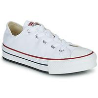Cipők Lány Rövid szárú edzőcipők Converse CHUCK TAYLOR ALL STAR EVA PLATFORM FOUNDATION OX Fehér