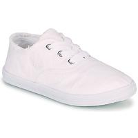 Cipők Lány Rövid szárú edzőcipők Kaporal DESMA Fehér