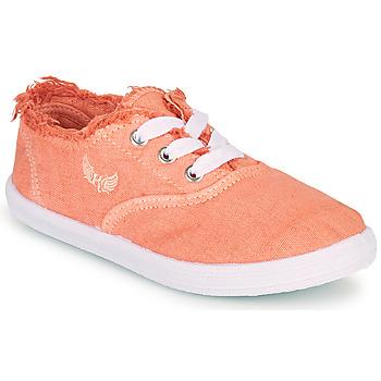 Cipők Lány Rövid szárú edzőcipők Kaporal DESMA Korall