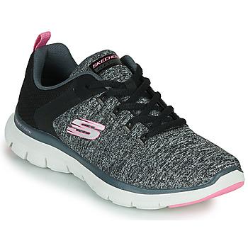 Cipők Női Fitnesz Skechers FLEX APPEAL 4.0 Szürke / Rózsaszín