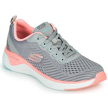 Cipők Női Fitnesz Skechers SOLAR FUSE COSMIC VIEW Szürke / Rózsaszín