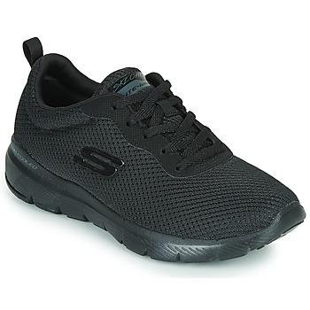 Cipők Női Fitnesz Skechers FLEX APPEAL 3.0 Fekete
