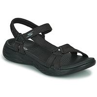 Cipők Női Sportszandálok Skechers ON THE GO 600 Fekete
