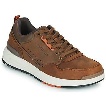 Cipők Férfi Rövid szárú edzőcipők Skechers FAIRLINE Barna