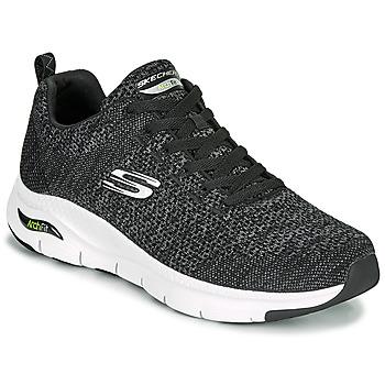Cipők Férfi Rövid szárú edzőcipők Skechers ARCH FIT Fekete