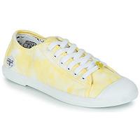 Cipők Női Rövid szárú edzőcipők Le Temps des Cerises BASIC 02 Citromsárga
