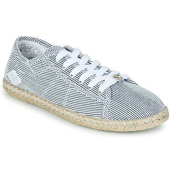 Cipők Női Rövid szárú edzőcipők Le Temps des Cerises BEACH Kék / Fehér