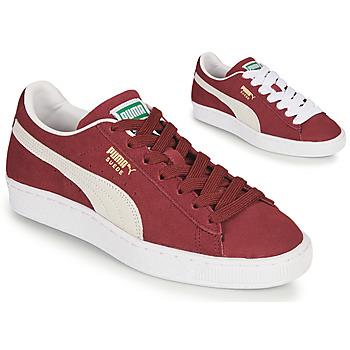 Cipők Rövid szárú edzőcipők Puma SUEDE Bordó