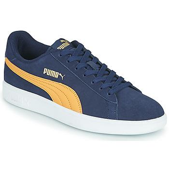 Cipők Férfi Rövid szárú edzőcipők Puma SMASH Kék / Bézs