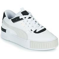 Cipők Női Rövid szárú edzőcipők Puma CALI SPORT Fehér / Fekete
