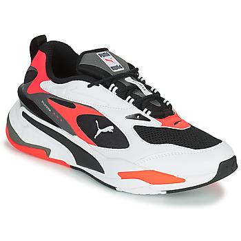 Cipők Férfi Rövid szárú edzőcipők Puma RS FAST Fehér / Fekete  / Piros