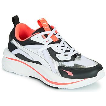 Cipők Női Rövid szárú edzőcipők Puma RS CURVE GLOW Fehér / Fekete