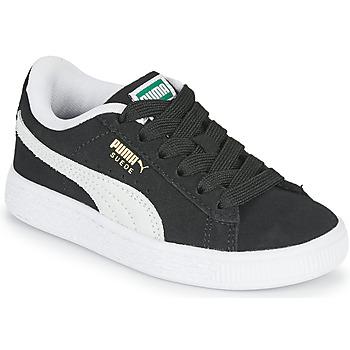 Cipők Gyerek Rövid szárú edzőcipők Puma SUEDE PS Fekete