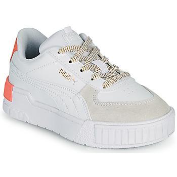 Cipők Lány Rövid szárú edzőcipők Puma CALI SPORT PS Fehér / Rózsaszín