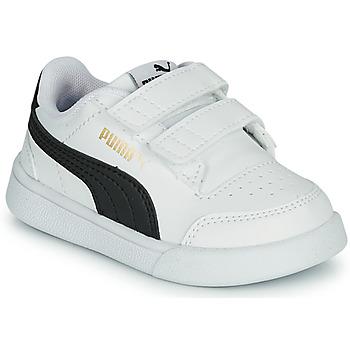 Cipők Gyerek Rövid szárú edzőcipők Puma SHUFFLE INF Fehér / Fekete