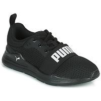Cipők Gyerek Rövid szárú edzőcipők Puma WIRED PS Fekete
