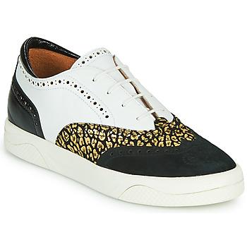 Cipők Női Rövid szárú edzőcipők Mam'Zelle ALIBI Fehér / Arany