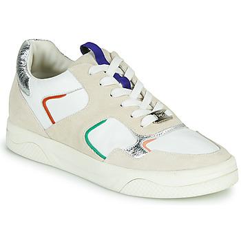Cipők Női Rövid szárú edzőcipők Mam'Zelle ARTIX Fehér / Sokszínű