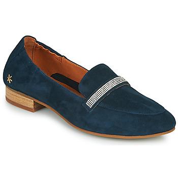 Cipők Női Mokkaszínek Mam'Zelle ZAVON Kék