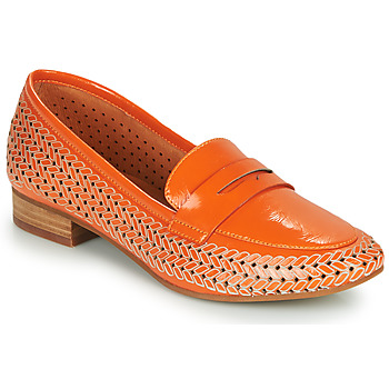 Cipők Női Mokkaszínek Mam'Zelle ZIP Narancssárga