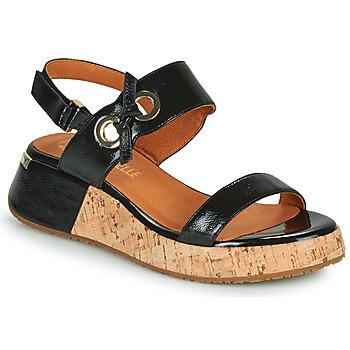 Cipők Női Szandálok / Saruk Mam'Zelle CLIP Fekete