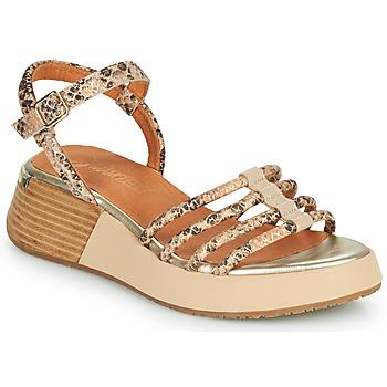 Cipők Női Szandálok / Saruk Mam'Zelle CALVA Bézs