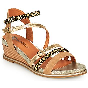 Cipők Női Szandálok / Saruk Mam'Zelle NAGA Bézs / Narancssárga