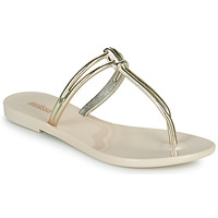 Cipők Női Papucsok Melissa ASTRAL CHROME AD Bézs