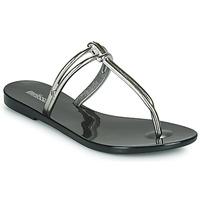 Cipők Női Papucsok Melissa ASTRAL CHROME AD Fekete