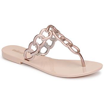 Cipők Női Lábujjközös papucsok Melissa SUCCESS AD Rózsaszín