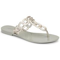 Cipők Női Lábujjközös papucsok Melissa SUCCESS AD Zöld