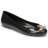 Cipők Női Balerina cipők  Melissa VIVIENNE WESTWOOD ANGLOMANIA - SWEET LOVE II Fekete
