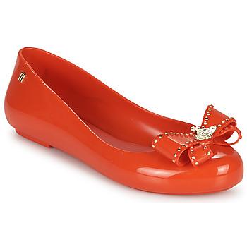 Cipők Női Balerina cipők  Melissa VIVIENNE WESTWOOD ANGLOMANIA - SWEET LOVE II Piros
