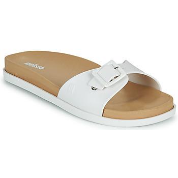 Cipők Női Papucsok Melissa WIDE SLIDE AD Fehér